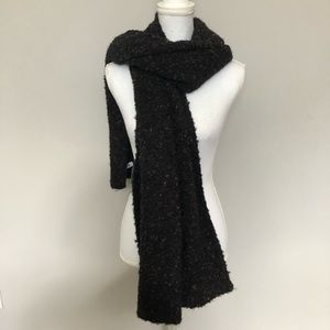 4/$25 Old Navy Scarf Winter Chunky Speckled Black